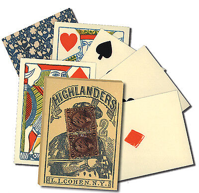 Playing Cards Old West Poker/Faro Replica Deck