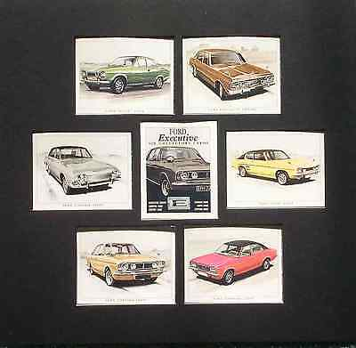 The Ford Executive Cars Cards