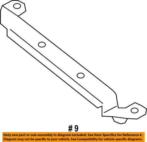 SUBARU OEM 13-15 XV Crosstrek Fender-Retainer Plate Left 59123FJ030