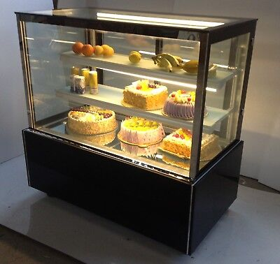 Floor Type Refrigerated Cake Showcase Commercial Bakery Display Cabinet Case220v