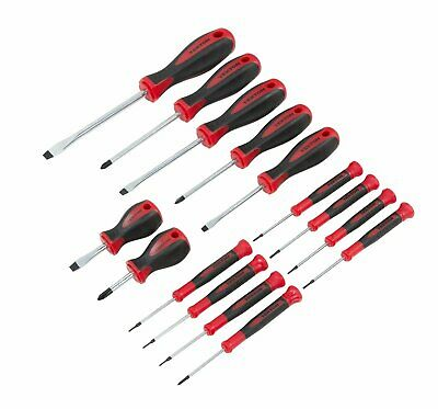 TEKTON 2744 Full size Screwdriver Set and a Precision Screwdriver set  ,15-Piece 15 Piece Precision Screwdriver