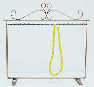 Necklace Bracelet 20 Hooks Display Stand Rack Holder