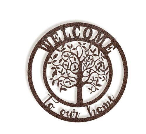 DXF CNC Plasma Laser Cut Ready Vector Welcome to our Home tree