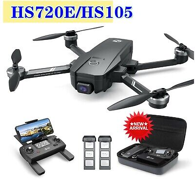Holy Stone HS720E HS105 Drone with EIS 4K UHD Camera GPS Foldable FPV Quadcopter