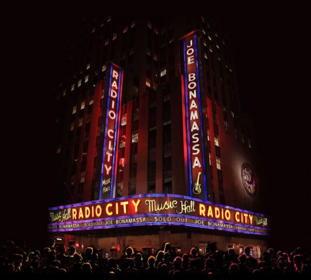 JOE BONAMASSA LIVE AT RADIO CITY MUSIC HALL CD & DVD ALBUM SET (October 2 2015)