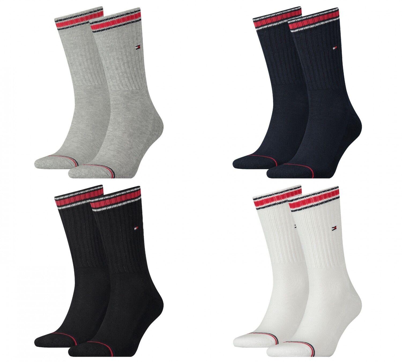 Tommy Hilfiger Herren TH Iconic Sport Socken Socks 2er Pack 372020001