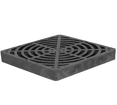 "Storm Drain FSD-124-SF Replacement 12"" Square Catch Basin Flat Grate"