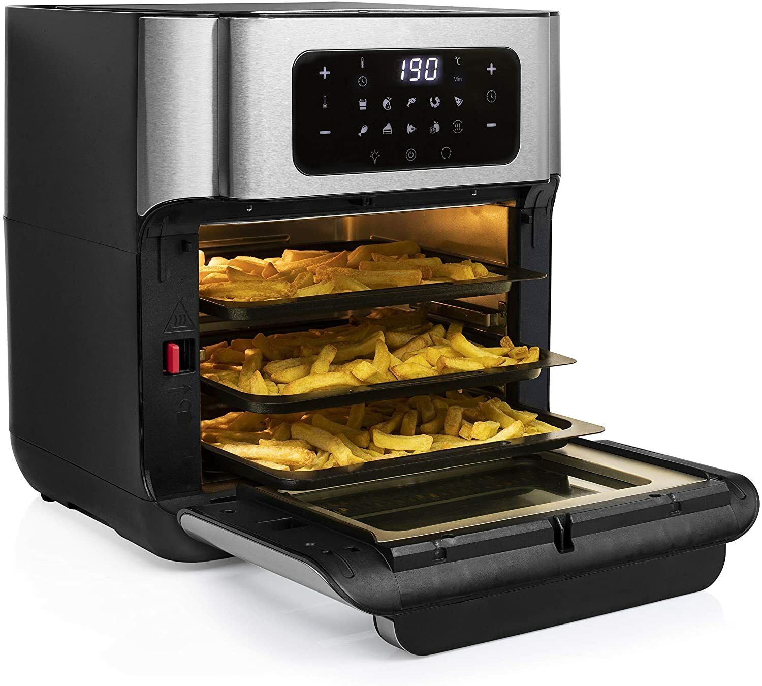 Princess 182065 Aerofryer Oven And Frier Of Air 338.1oz 1500 W 10 Programmes