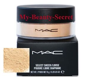 MAC SELECT SHEER/LOOSE POWDER #NC15 ~NEW IN BOX - AUTH!