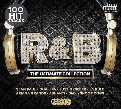 R&B – THE ULTIMATE COLLECTION – V/A 5CDs (NEW/SEALED) Grace Jones Nelly  N.W.A