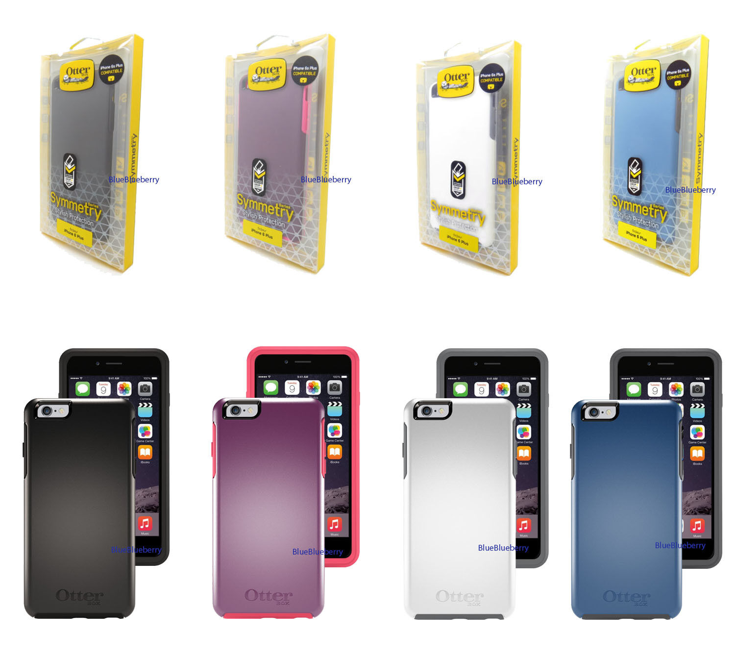 New OtterBox Symmetry Series Case for Apple iPhone 6 Plus or