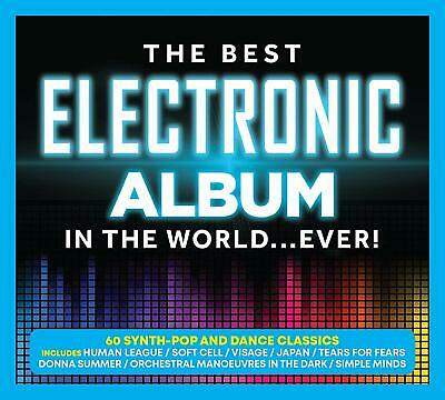 The Best Electronic Album in the World Ever Various Artists 3 CD Digipak NEW