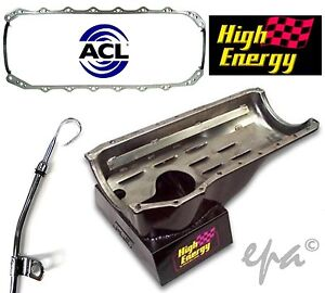 HIGH ENERGY SUMP HOLDEN COMMODORE VB VC VH VK VL 253 308 5L INC EF +GASKET&STICK