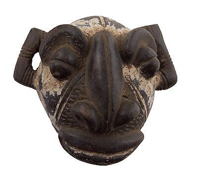 Mask diminutive african passport Miniature terracotta divination 6467 Q1