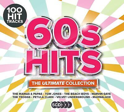 60s Hits - The Ultimate Collection (Various Artists) [New & Sealed] 5CD