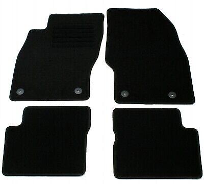 Fußmatten Set für Opel Corsa D 2006-2014 Matten Autoteppiche Passform Set