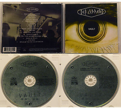 Def Leppard - Vault (Greatest Hits 1980-1995, 2 CDs, Limited Edition +bonus CD)