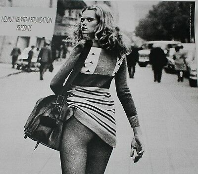 HELMUT NEWTON ALICE SPRINGS AUSSTELLUNG - EXHIBITION POSTER ORIGINAL A1 FORMAT
