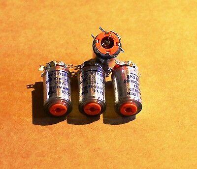 Siemens Polystyrene Styroflex Nos 20800pf 125v 05 Capacitors 4 Caps