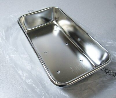 Polar Ware 952-hpt Instrument Tray Perforated Stainless Steel 8-78 X 5 X 2