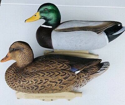 Hen Vintage 1988 Flambeau Duck Decoy 15.5 inches with weights!