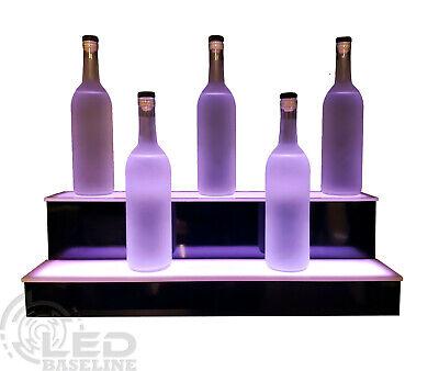 32 Led Color Changing Bar Shelf Bottle Glorifier 2 Step