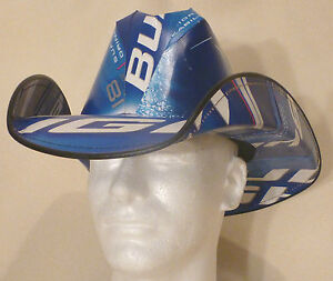 Bud-Light-Beer-Box-Cowboy-Hat-Party-Nascar-Frat-Stetson