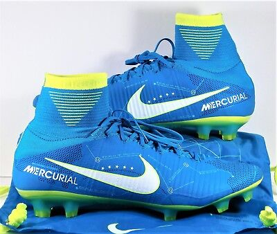 Nike Mercurial Superfly V FG Neymar Flyknit Soccer Cleats Sz 12.5 NEW 921499 400
