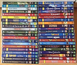 Walt Disney Dvd's Big Collection Browns Plains Logan Area Preview