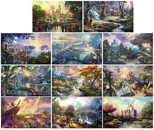 Thomas Kinkade Collection Disney prints