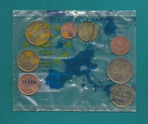 Original-Starter-Kit-Finnland-2002-8 Münzen=3,88 €-Bankfrisch-RAR-