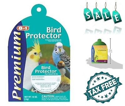 United Pet Group Bird Protector Pest Control Hanger Supply Lice Mites Protection