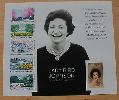 #4716 Lady Bird Johnson Sheet of 6 Forever Stamps