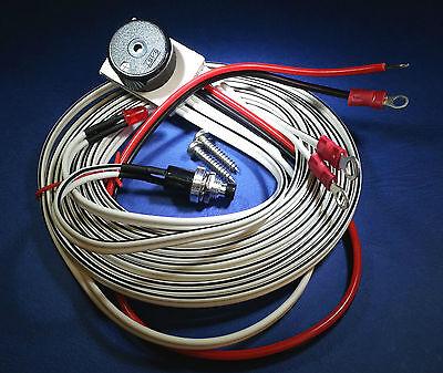 Low Coolant Level Alarm Mazda Bongo 12V  Buzzer & LED .......100mm Screw...