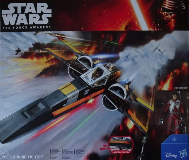 HASBRO® B3953 STAR WARS™ The Force Awakens Poe´s X-Wing Fighter™ mit Figur