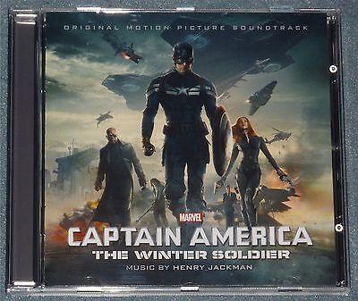 CAPTAIN AMERICA: WINTER SOLDIER SOUNDTRACK CD RETURN OF THE FIRST AVENGER OOP