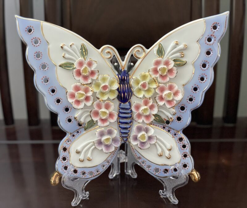 Wishful Flower Butterfly figurine