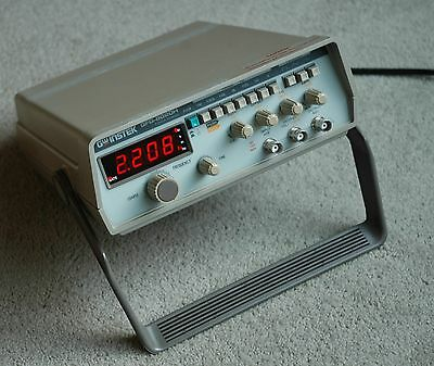 Gw Instek Gfg-8020h 2mhz Function Generator Works Great Fully Tested