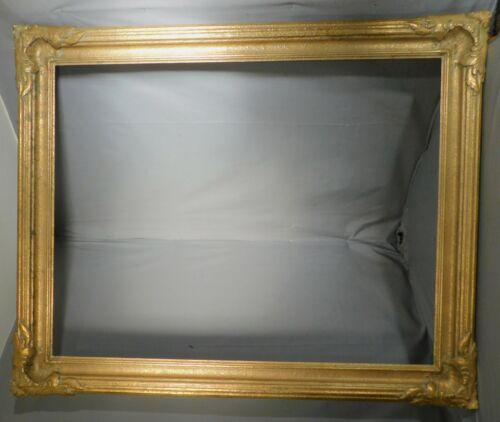 Antique Arts Crafts Newcomb Macklin Era Picture Frame 36x46 Closed Corner GILT