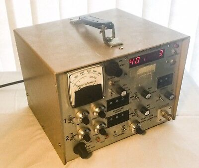 Ludlum Measurements Geiger Counter Model 2218 Dual Analyzer Scascaler