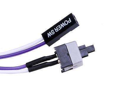 Taster Power Reset SW Taste Knopf Aus Ein Schalter Computer PC Kabel Mainboard