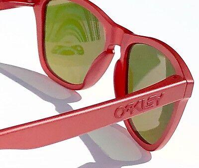 073f3d7698 NEW  Oakley Frogskins Ruby w Ruby PRIZM Sunglass oo9013-C8