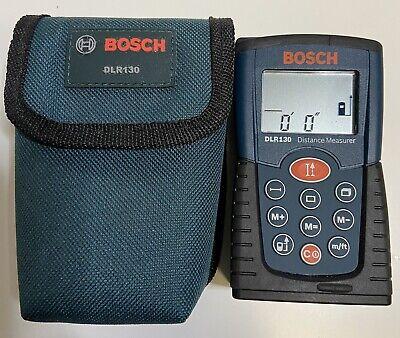 Bosch DLR130 Laser Distance Measure w/ Case - EUC