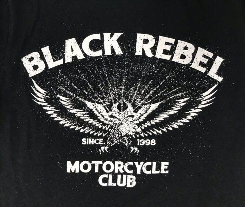 BLACK REBEL MOTORCYCLE CLUB BAND TEE SHIRT SIZE SMALL BLACK