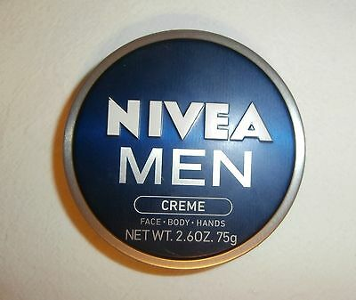 Non Greasy Light - NIVEA MEN CREME Hydration+Protects Light Weight Non-Greasy FOR MEN 2.6oz CAN NEW