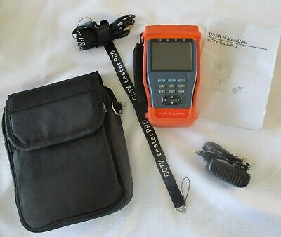 Cctv Tester Pro 3.5 Inch Screen Power Adapter And Cords Nktech