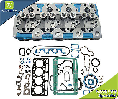 New Aftermarket Bobcat 743 Kubota V1702 Complete Cyl Head Full Gasket Set