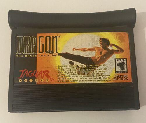 DRAGON The Bruce Lee Story Atari Jaguar, 1994 Cart Only. - $27.95
