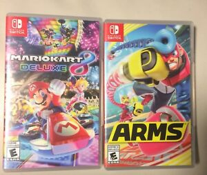 Arms and Mario Kart for sale 120$
