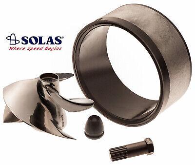 Solas Sea Doo Impeller SD-CD-15/23 W/ 140mm Wear Ring & Tool 787 GTX GSX SPX XP